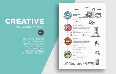 Tips Membuat Cv Menarik Dengan Design Profesional Gak Perlu Pakai