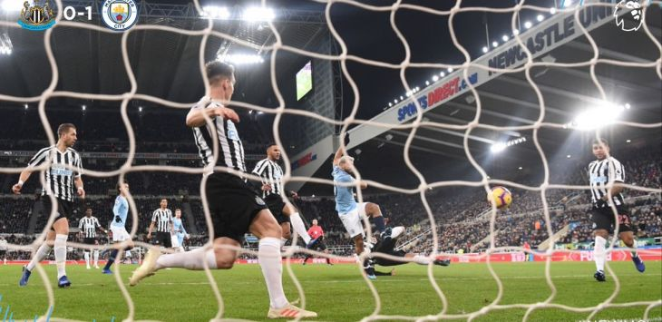 Newcastle United bungkam Manchester City 2-1