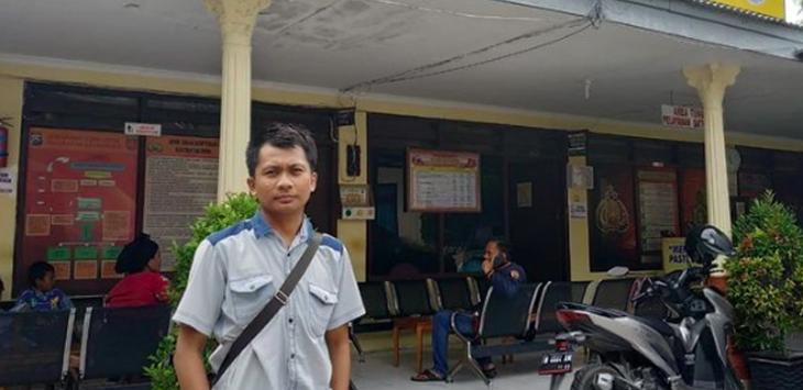 Muhlisin David, suami Siti Aisyah