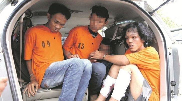 Pembunuh janda muda Inah Antimurti ditangkap. (Koran Medan)