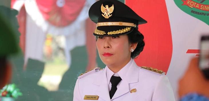Tjhai Chui Mie, wanita Tionghoa pertama jadi Walikota Singkawang
