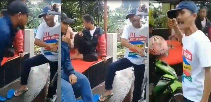 Dipaksa Pilih Prabowo, Kakek Penjual Bakso Pendukung Jokowi Marah