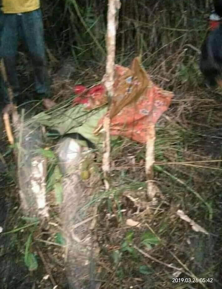 Jenazah pendeta cantik Melinda Zidemi ditemukan di kebun karet