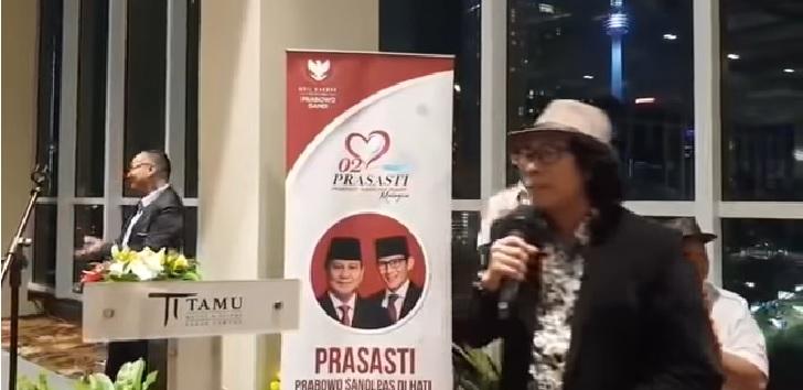 Eddy Iskandar dosen Unmul dukung Prabowo-Sandi.