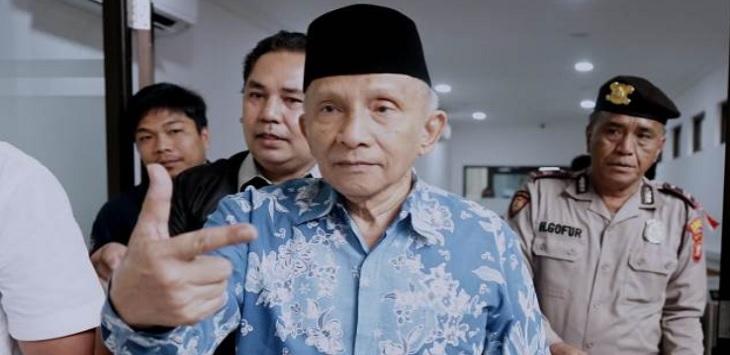 Anggota Dewan Pembina Badan Pemenangan Nasional (BPN) Prabowo Subianto-Sandiaga Uno, Amien Rais. ft/jawapos