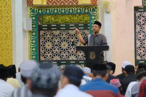 Wagub Sudirman Safari Ramadan di Masjid Agung Sidrap