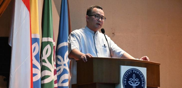 Rektor IPB Soroti Gerakan Mahasiswa, Perlu Reformasi Agar Bisa Adaptasi dengan Perubahan