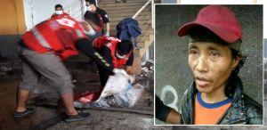 Sugeng (kanan), pelaku mutilasi di Malang Jawa Timur ditangkap. (Radar Malang)