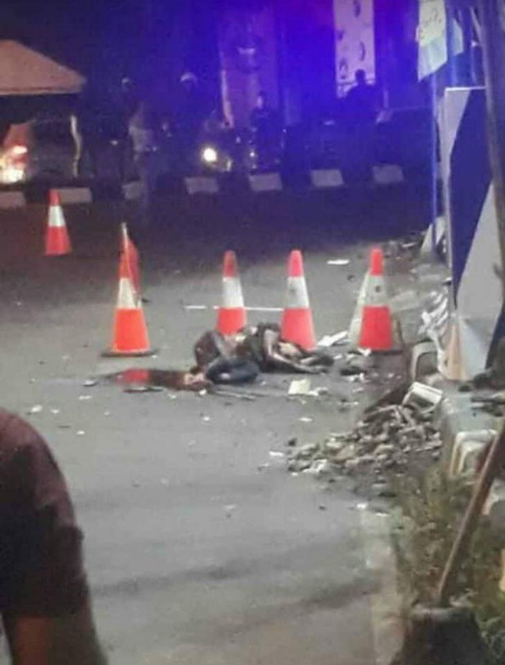 Bom bunuh diri di Sukoharjo