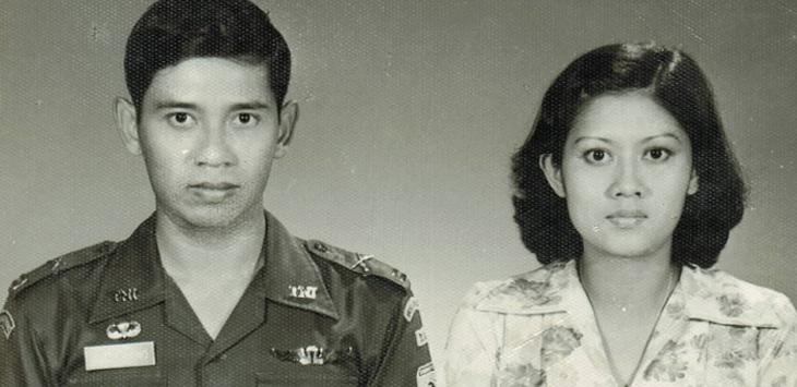Foto cantik Ani Yudhoyono saat masih muda 1