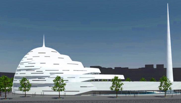 Masjid rancangan Ridwan Kami di Sevilla Spanyol