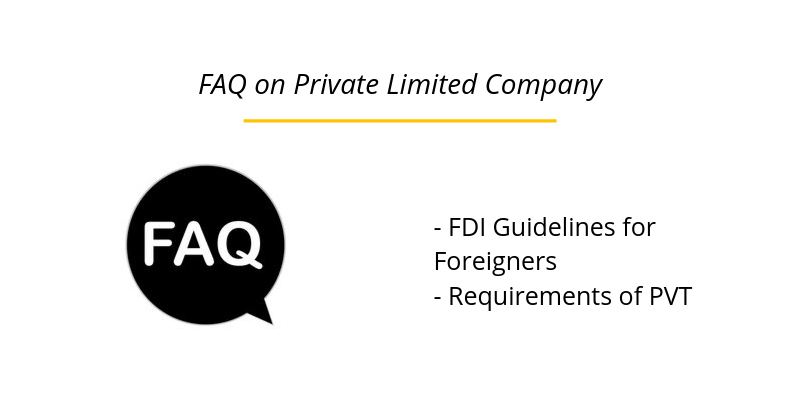 FAQ on Private Limited Company
