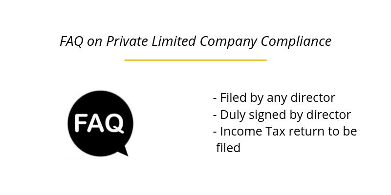 FAQ on Private Limited Company Compliance