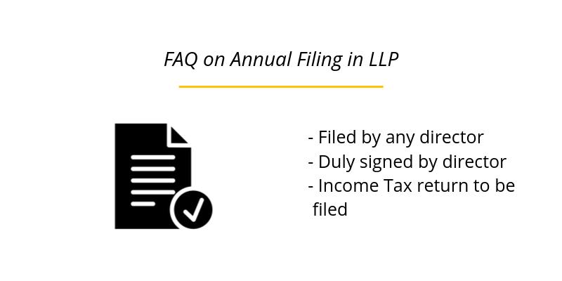 FAQ on Annual Filing in LLP