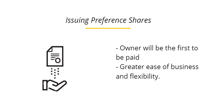 Issuing Preference Shares