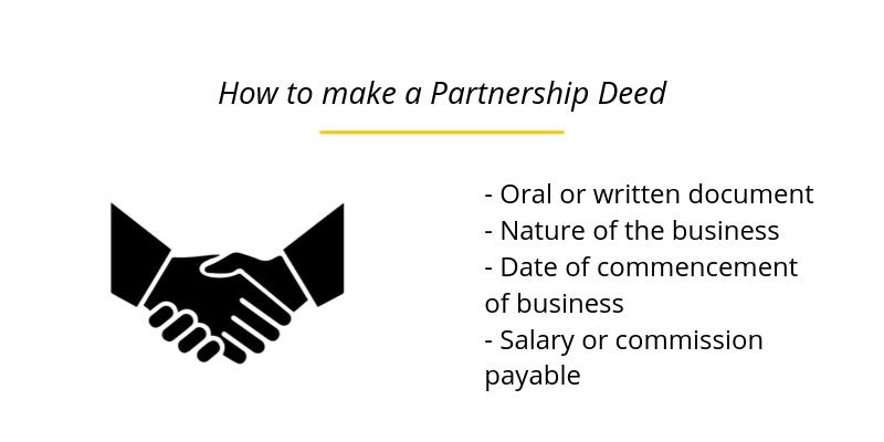 How to make a Partnership Deed