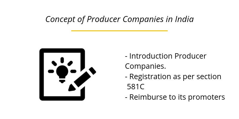 Concept of Producer Companies in India