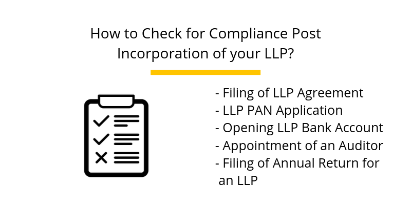 How to Check for Compliance Post Incorporation of your LLP?