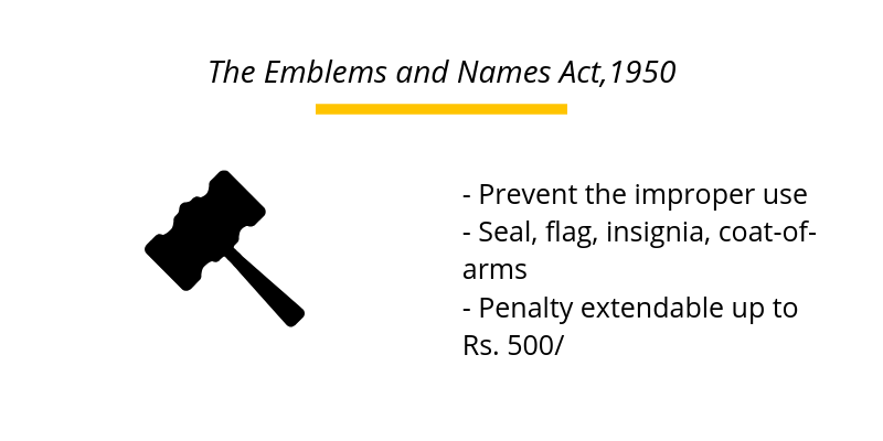 The Emblems and Names Act,1950