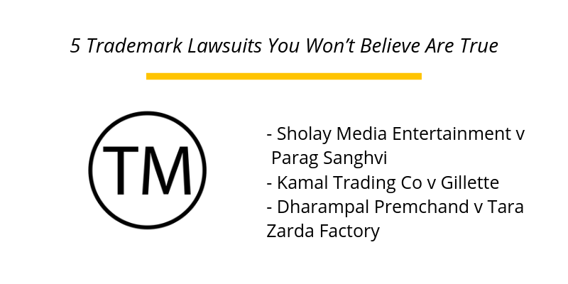 5 Trademark Lawsuits You Won't Believe Are True
