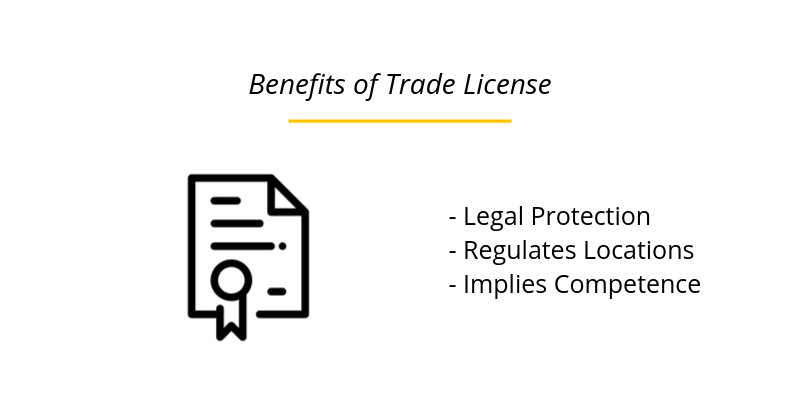 Benefits of Trade License