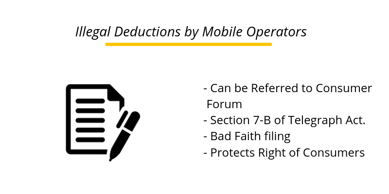 Illegal Deductions by Mobile Operators can be filed in Consumer Forums: HP SCDRC