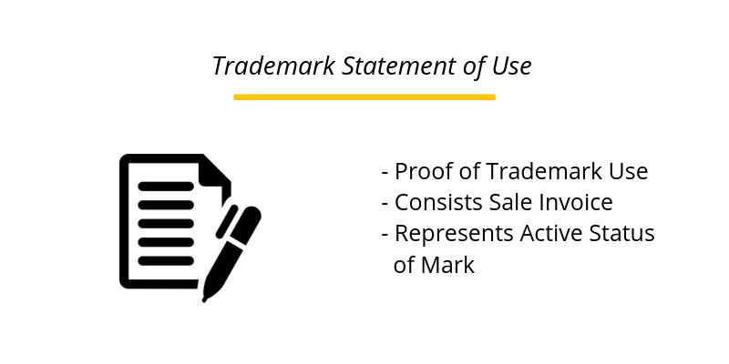 User Affidavit - Trademark Statement of Use