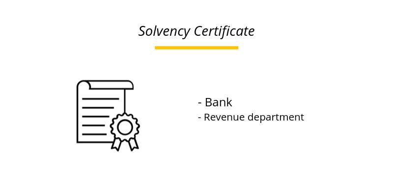 Solvency Certificate