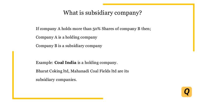 subsidiary company
