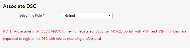 Associate DSC