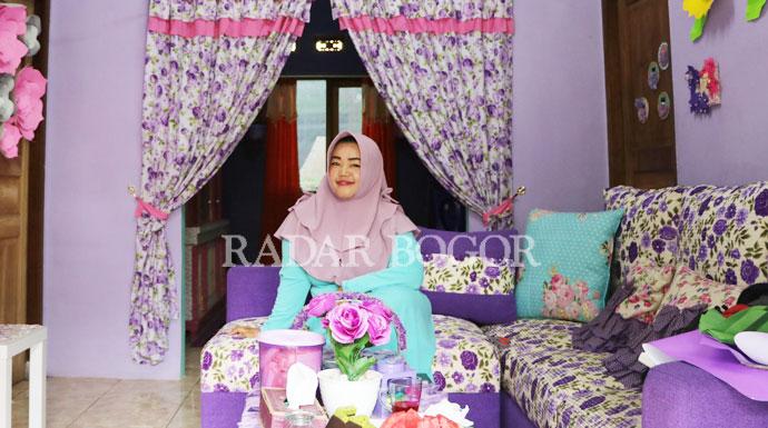 Rumah Shabby Chic Milik Herlina Widyaningsih Radar Bogor