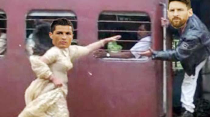 Bawa Kardus Sampai Ngojek Bareng Ini Kumpulan Meme Kocak Messi Ronaldo Pulang Kampung Dari Piala Dunia Radar Bogor Berita Bogor Terpercaya