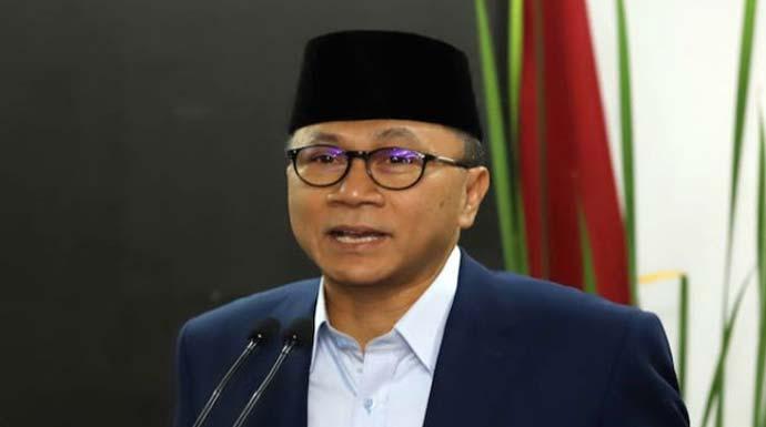 Ketua Umum PAN Zulkifli Hasan. (Derry/JawaPos.com)