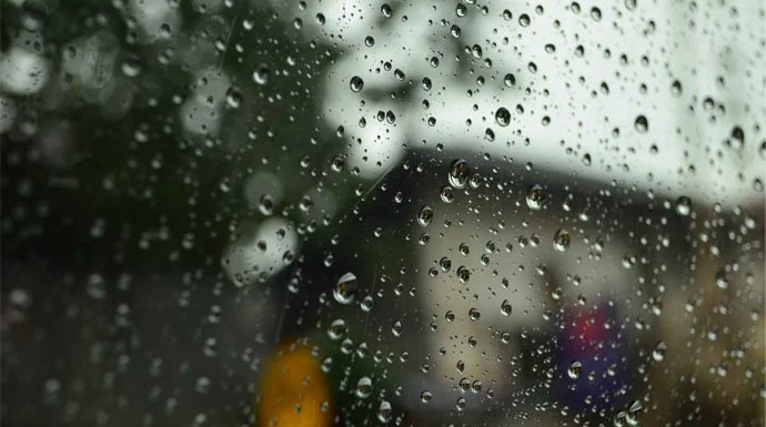 Hujan Ringan di Bogor