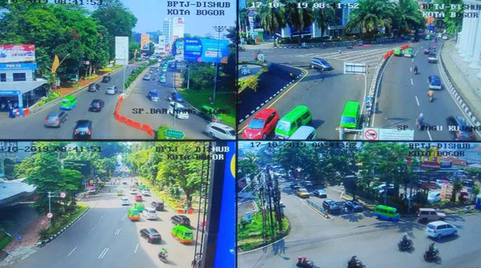 Info Lalu Lintas Kota Bogor