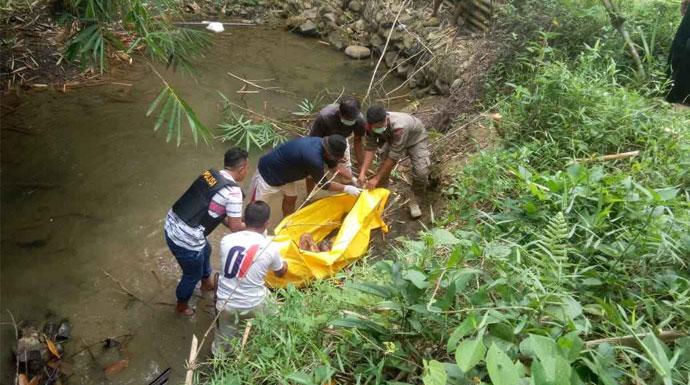 Penemuan mayat di Jasinga