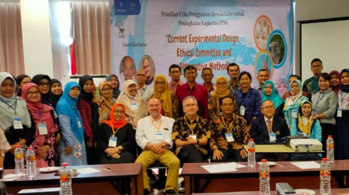LPPM IPB University Gelar Pelatihan Etika Penggunaan Hewan Coba