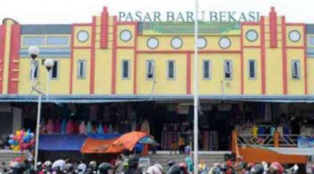 Pasar Baru Bekasi, Jalan Ir. H. Juanda, Bekasi Timur, Kota Bekasi, Jawa Barat.