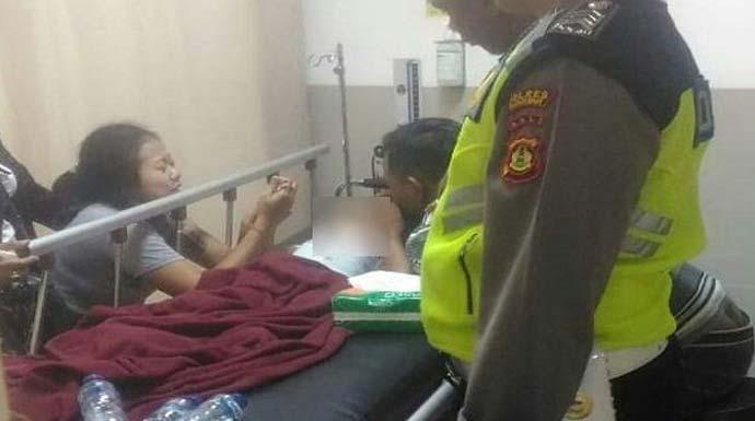 Balita 2 tahun tak terselamatkan setelah terlibat kecelakaan di Jalan Raya Singapadu (Istimewa)