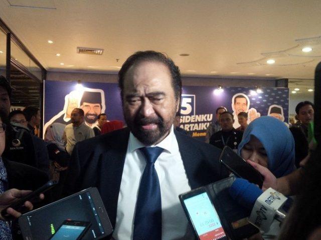 Surya Paloh merasakan ada pihak-pihak yang memang sinis dan mencurigai terkait pertemuannya dengan Presiden PKS, Sohibul Iman