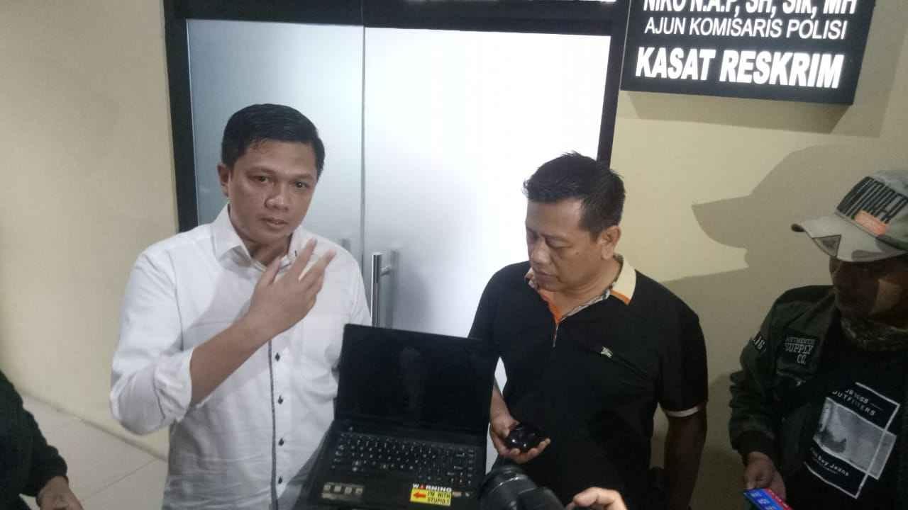 Kasat Reskrim Polresta Kota Bogor, AKP Niko N