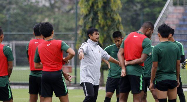 Pelatih timnas U-23 Indonesia Indra Sjafri optimistis menghadapi SEA Games 2019.