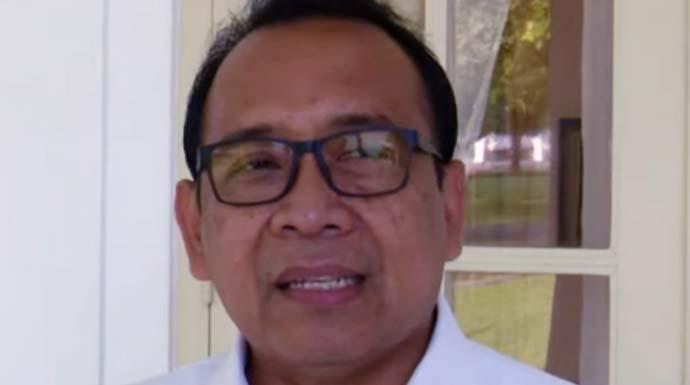 Menteri Sekretaris Negara Pratikno di Istana Kepresidenan Bogor pada Kamis (7/11/2019). (BPMI, Setpres)