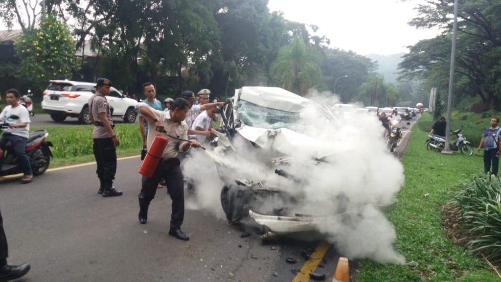 Kecelakaan di Sentul City