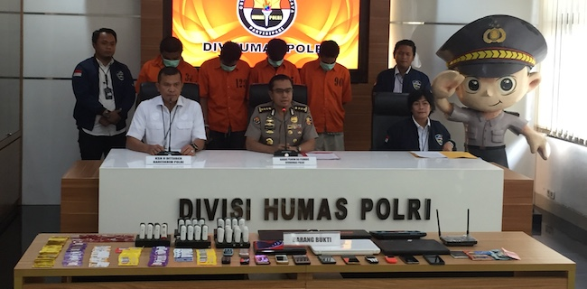 Sendikat Penipuan Pinjaman Online Diringkus Polisi Radar Bogor