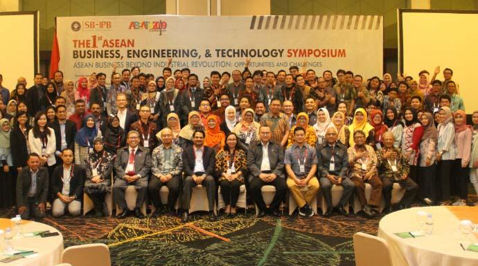 Sekolah Bisnis IPB Gelar Konfrensi International 1st ASEAN Business Engineering & Technology Symposium (ABEATS) 2019 Menggandeng Universitas Luar Negeri