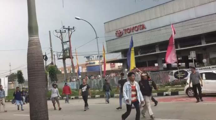 Bentrok Ormas di Bogor Libatkan Massa dari Depok, Tangerang dan Bekasi