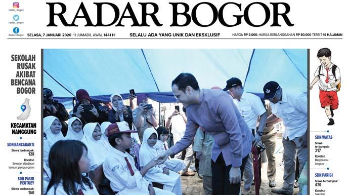 Epaper Radar Bogor Edisi 7 Januari 2020