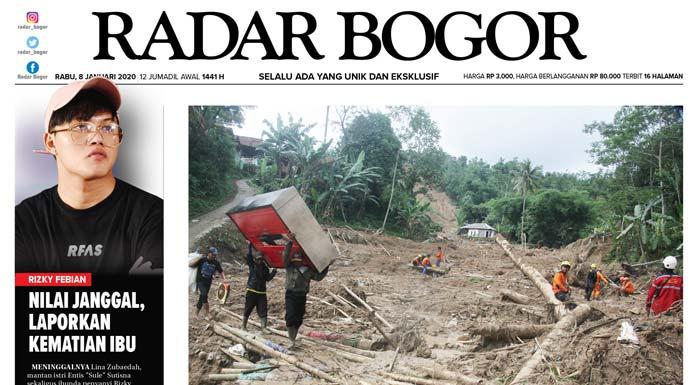 Epaper Radar Bogor Edisi 8 Januari 2020