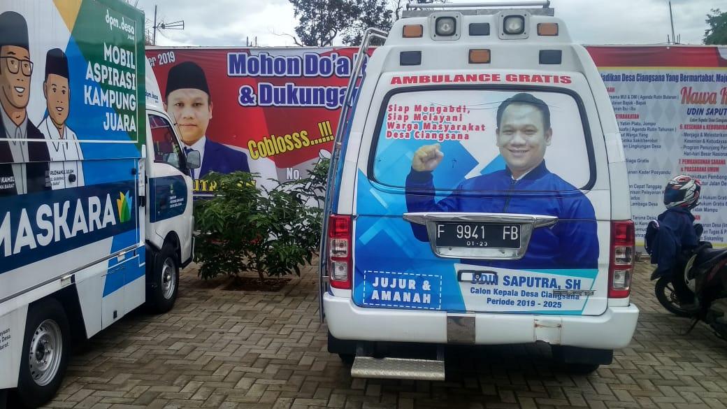 Warga Ciangsana, Punya Ambulan Gratis